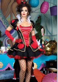 Маскарадный костюм королевы Зазеркалья VIP.