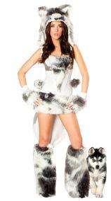 Карнавальный костюм волчицы