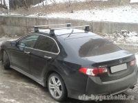 Багажник на крышу Honda Accord, Атлант, аэродинамические дуги