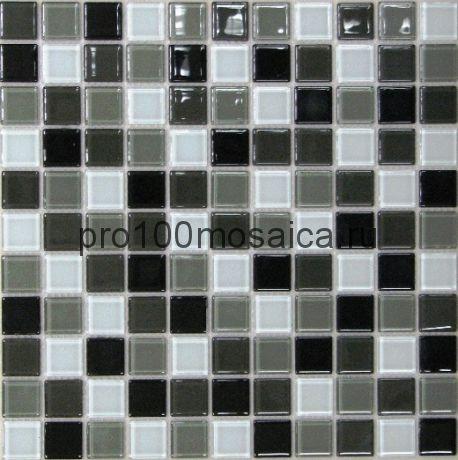 Carbon mix  стекло. Мозаика серия CRYSTAL, размер, мм: 300*300