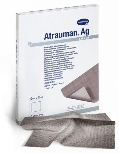 Atrauman AG Мазевая повязка с серебром, 10х 20см, 1 штука   »