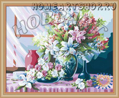 "Картина по номерам ""Лето в каждом доме"" 40х50"