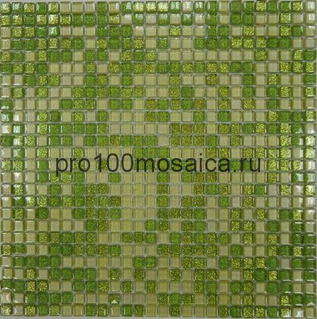 Fine Green  Мозаика серия CRYSTAL, размер, мм: 300*300