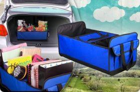 Сумка-органайзер для автомобиля с отсеком-холодильником