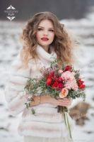 Свадебные шубки и болеро аренда москва фото