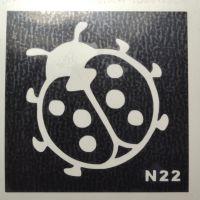 Трафареты для боди-арта, био-тату  N22