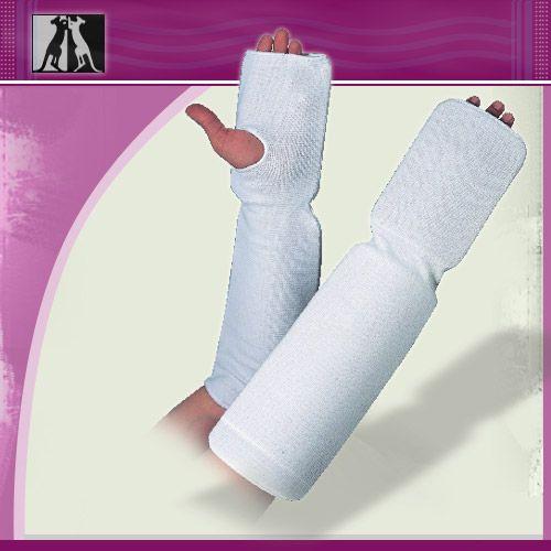 Защита руки эластичная, белая, полиэстер, senior, артикул 14010, KANGO