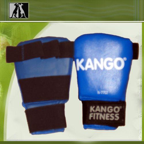 Накладки снарядные Синие, иск. кожа, артикул 7702A, KANGO