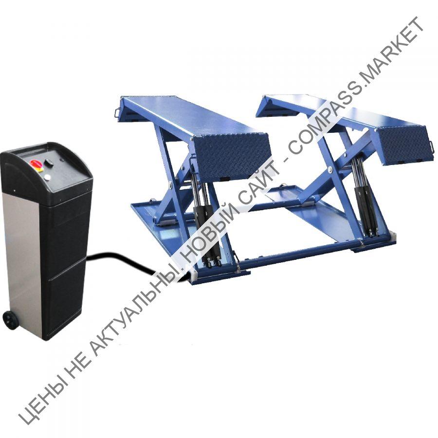 Подъёмник ножничный короткий мобильный г/п 3000 кг, Werther-OMA (Италия)