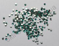 Камни Swarovski зеленые (размер #3) - 100 штук