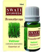 Натуральное эфирное масло Ветивер Свати Аюрведа / Swati Ayurveda Essential Oil Vetiver