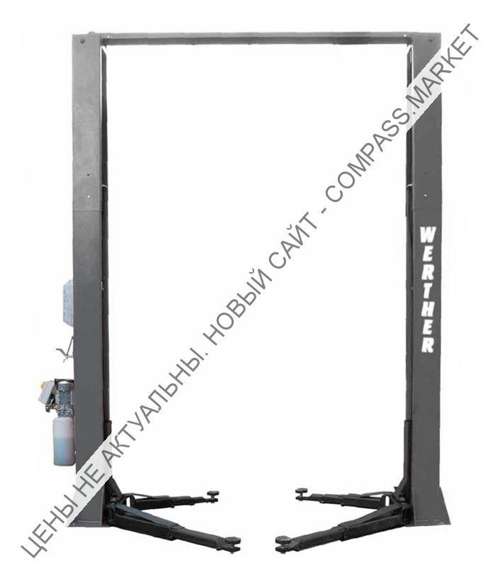 Подъемник двухстоечный электрогидравлический, г/п 4200 кг, Werther-OMA (Италия)