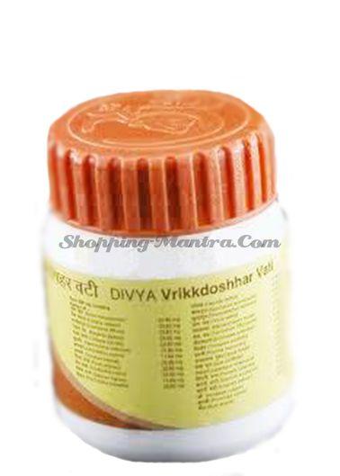 Вриккдошар вати для мочеполовой системы и почек Патанджали Аюрведа (Patanjali Vrikkdoshhar Vati)
