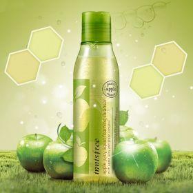 INNISFREE APPLE JUICY LIQUID FOAMING CLEANSER 150ml - очищающее средство для лица с экстрактом яблока