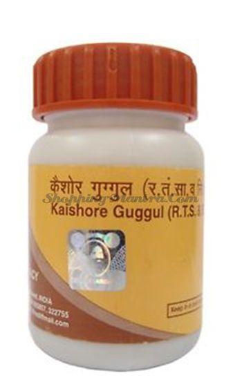 Кайшоре Гуггул для очищения от токсинов  Патанджали  Аюрведа (Divya Patanjali Kaishore Guggul)