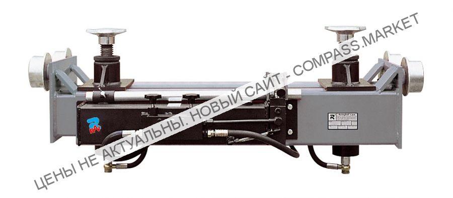 Домкрат канавный гидравлический г/п до 13500 кг. c ручным приводом, Ravaglioli (Италия)
