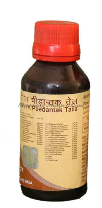 Масло для быстрого снятия болей в мускулах и суставах Патанджали | Divya Patanjali Peedantak Taila