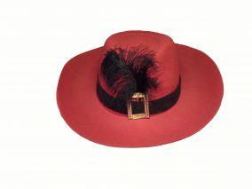 Мушкетерская шляпа с пряжкой