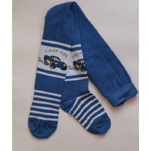 Синие колготки для мальчика Конте 301