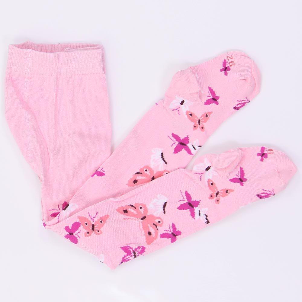 Колготки для девочки Розовые бабочки