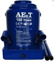 Домкрат бутылочный 100 тонн Т202100, AE&T