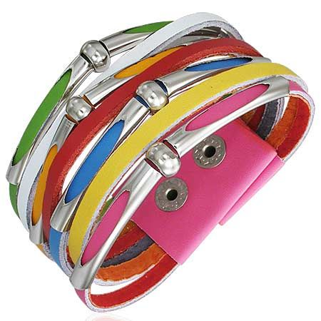 Кожаный браслет LBBF36811