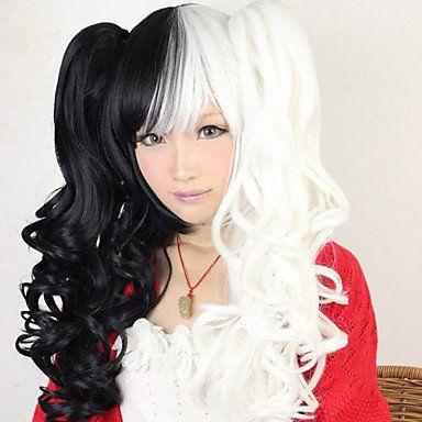 Черно-белый парик от Лолиты