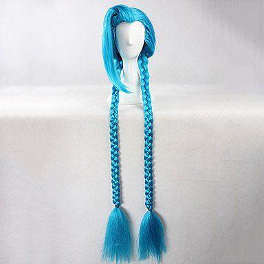 Голубой парик Лолита