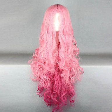 Парик розовый Лолита