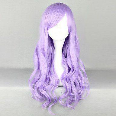 Парик светло-фиолетовый Лолита