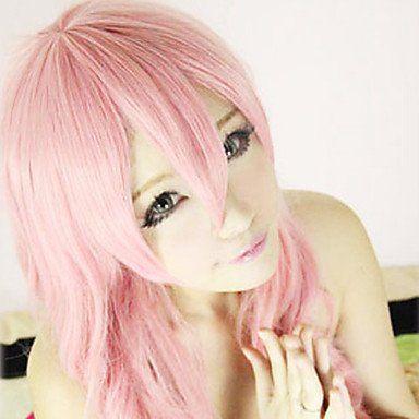 Парик светло-розовый Лолита