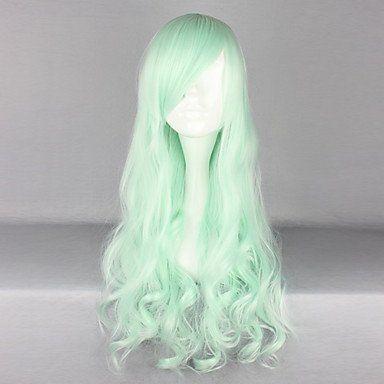 Парик светло-зеленый Лолита