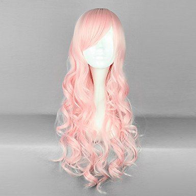 Парик розовый для принцессы Лолита