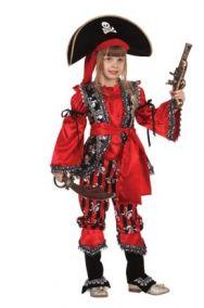 Костюм пиратский капитанша детский
