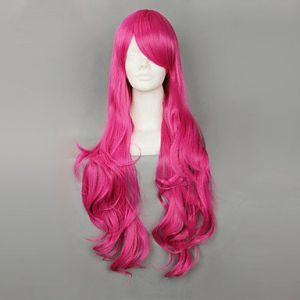 Парик ярко-розовый Лолита