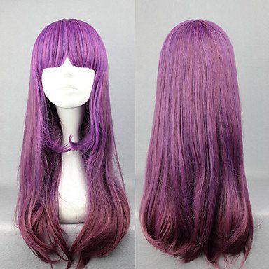 Элегантный фиолетовый парик Лолита