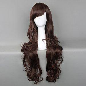 Черный шоколад парик Лолита