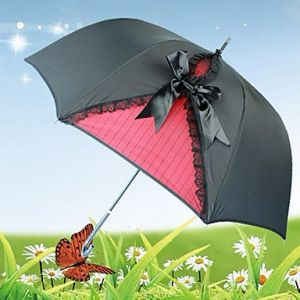 Зонтик в стиле ретро