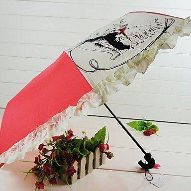 Зонтик со щенками