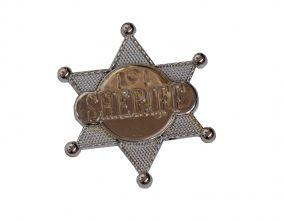 Ковбойский значок шериф