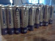Аккумуляторные батарейки   AAA Ni-MH 1.2V1000mAh ( 8шт )
