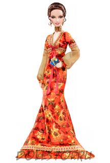 Коллекционная кукла Барби Живи и дай умереть, Джеймс Бонд 007 - Live and Let Die Barbie Doll