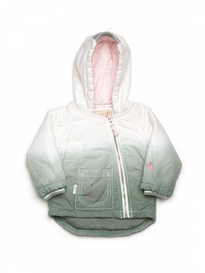 Куртка утепленная светло-зеленая