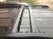 Багажная система на штатные рейлинги (Тип 1) для Toyota Land Cruiser 200 / Lexus LX
