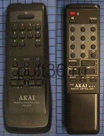 Пульт ДУ Akai RC-51A