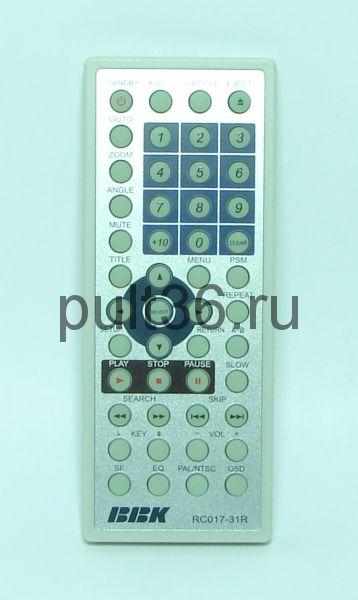 Пульт ДУ BBK RC-17-31R