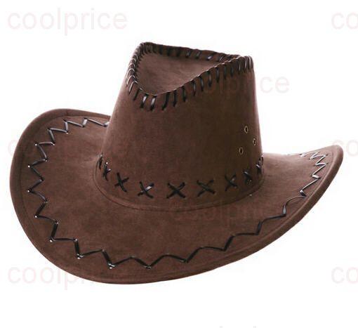 Ковбойская шляпа, тёмно-коричневая
