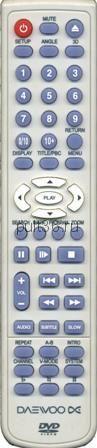 Пульт ДУ Daewoo DV-1350S DVD