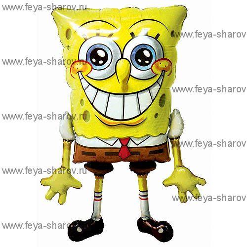 Шар-ходячка Спанч-Боб 117 см