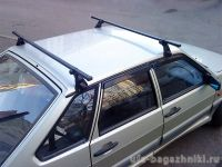 Багажник на крышу на ВАЗ-2113, ВАЗ-2114, ВАЗ-2115, Атлант, стальные дуги
